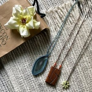 Bundle 3 Handmade Boho Style Necklaces fro…